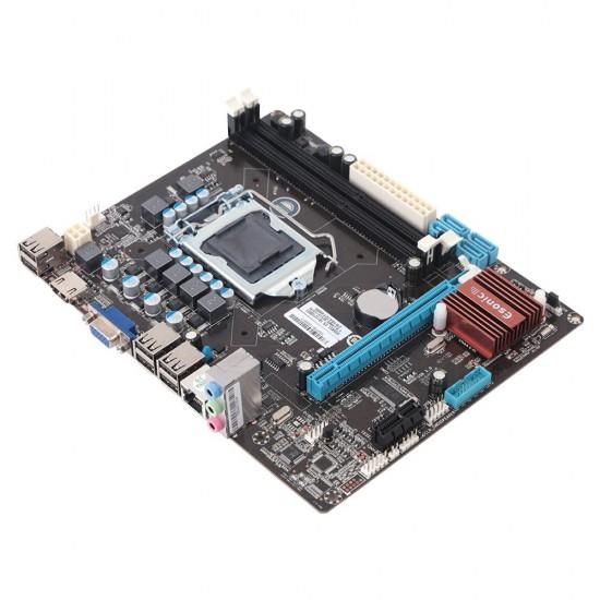 Esonic H55KEL LGA 1156 Pin 2x DDR3 1333 Mhz 4xUSB 2.0 Kutulu Anakart