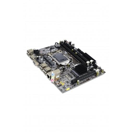 Turbox H55M Sata Ddr3 1600MHz Usb 2.0 Vga Hdmi Ses Lan 1156P 1.Gen Anakart ( Kutusuz )