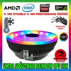 Snowman M105 Rainbow CPU Soğutucu Fan