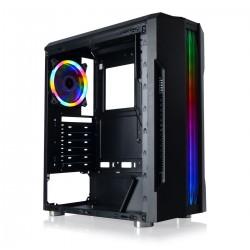 Gamecase Tro 1x120mm Rainbow Fan Ön Panel Şerit Lad Gaming Oyuncu Kasası