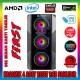 Zoko FIRST 4x12cm Reset Kontrollu RGB Fan Temper Cam Profesyonel Gaming Oyuncu Kasası