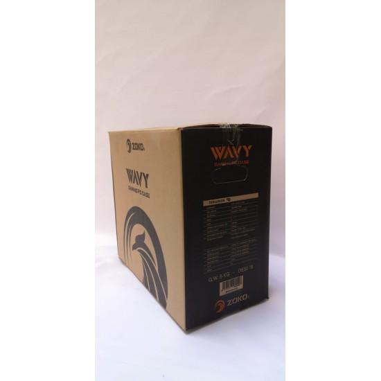 ZOKO WAVY RGB Ledli Siyah Acrylic Panel 120mm Fanlı Profesyonel Gaming Oyuncu Bilgisayar Kasası
