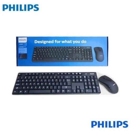 Philips C501 SPT6501B/00 Kablosuz Klavye Mouse Seti