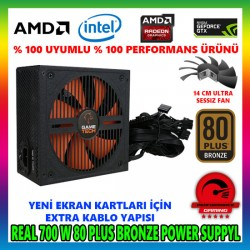 GAMETECH GTP-700 700W 80 PLUS POWER SUPPLY
