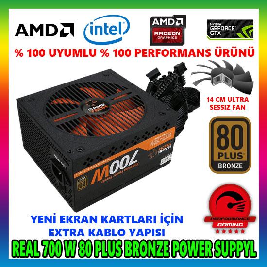GAMETECH GTP-700 700W 80 PLUS POWER SUPPLY