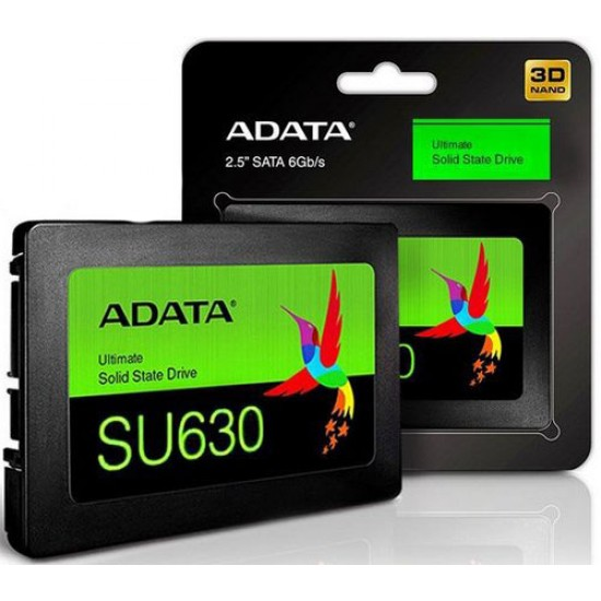 "Adata Ultimate SU630 ASU630SS-480GQ-r  480 GB 2.5"" 520MB-450 MB/s SSD Disk"