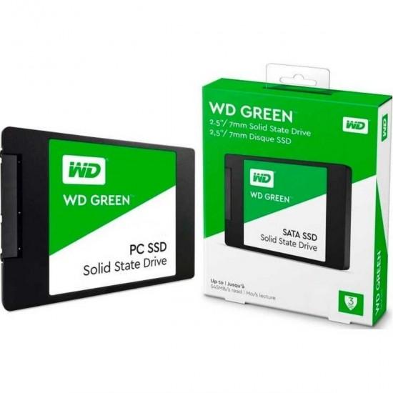 """WD Green WDS480G2G0A 480GB 545MB/s SATA3 2.5"""" SSD 2 YIL Garantili"""