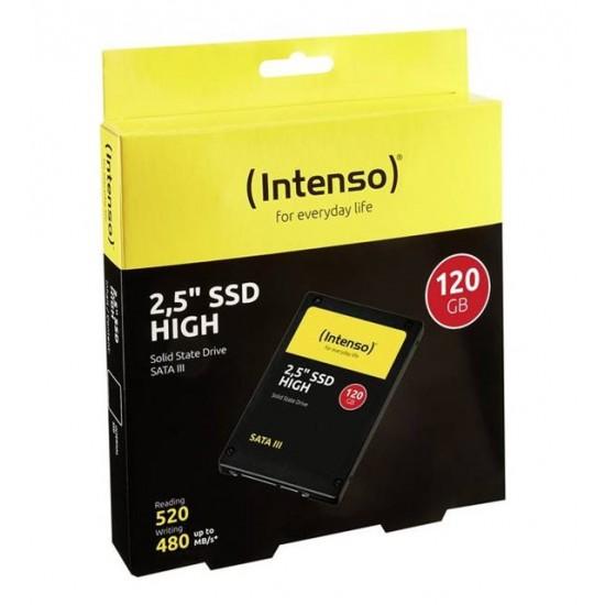 """intenso INT3813430 120GB 520MB-500MB/S 2.5"""" Sata 3 SSD Disk 2 YIL Garantili"""